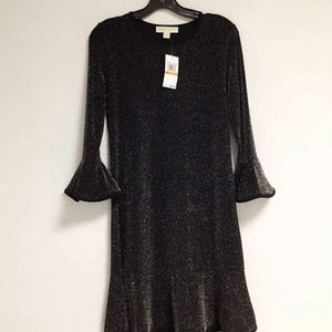 michael kors Metallic Sheath Dress